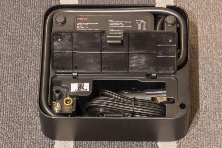 70mai Air Compressor Lite elektromos pumpa teszt 5