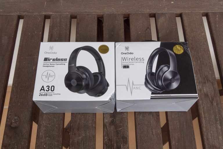 Oneodio A30 és A40 zajszűrős fejhallgatók tesztje 3