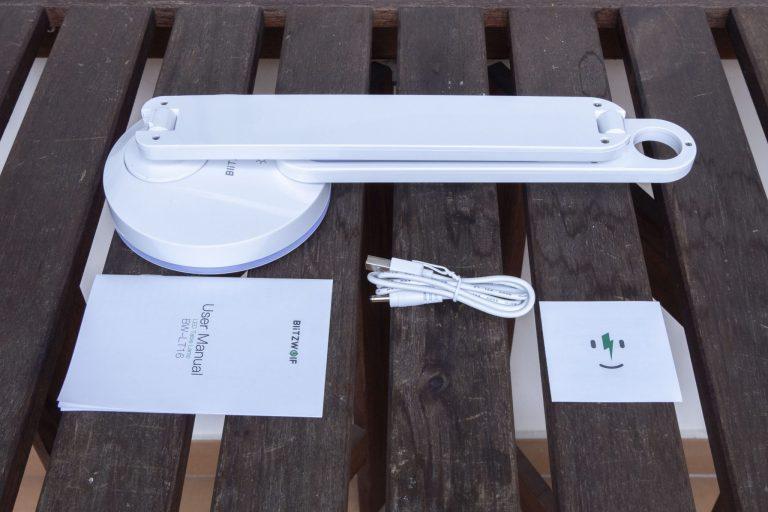 BlitzWolf BW-LT16 asztali lámpa teszt 3