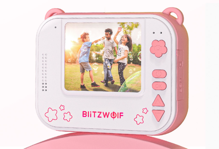 Rögtön nyomtatós digitális fényképezőgépet készített a BlitzWolf 5