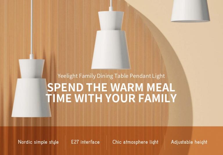 E27 foglalatos Xiaomi mennyezeti lámpa mérsékelt áron 6