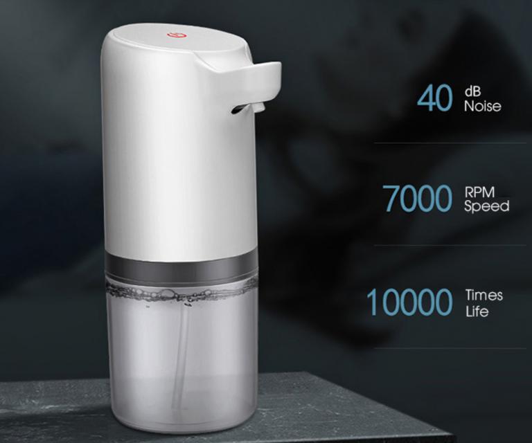 Automata szappanadagoló, ami fertőtlenítésre is jó 5