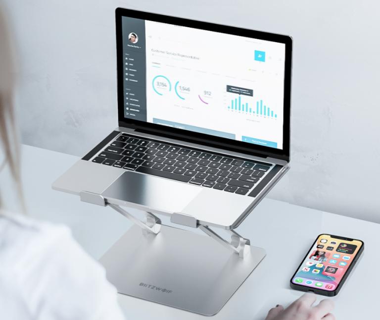 Zseniális laptop és tablet állványok a BlitzWolftól 8