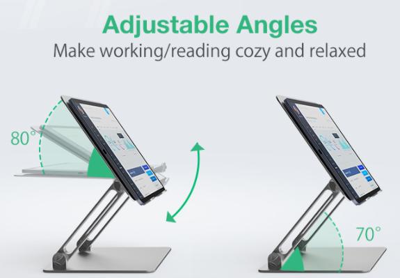 Zseniális laptop és tablet állványok a BlitzWolftól 13