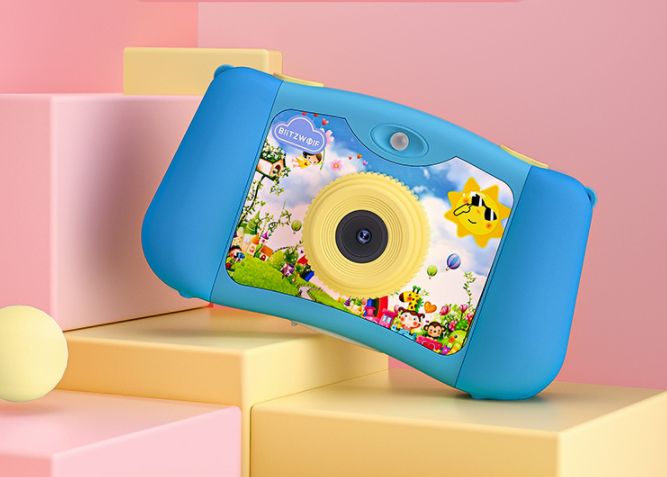 Ismét gyermekek számára készített fényképezőgépeket a BlitzWolf 6