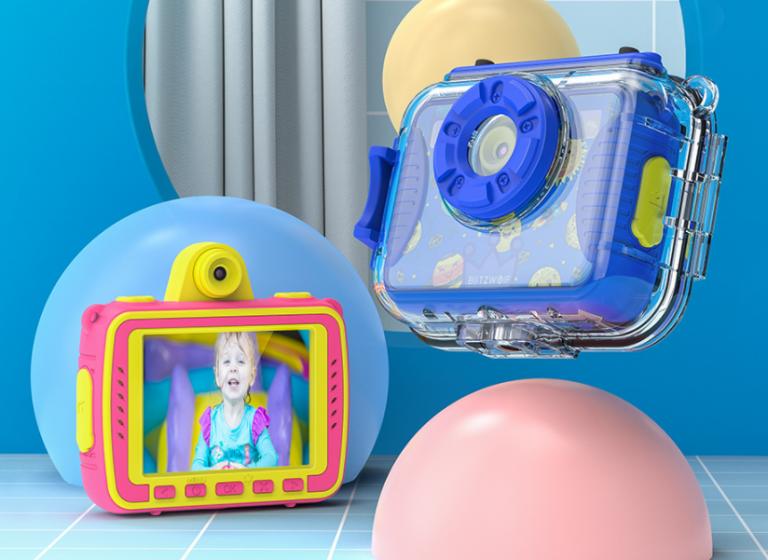 Ismét gyermekek számára készített fényképezőgépeket a BlitzWolf 2
