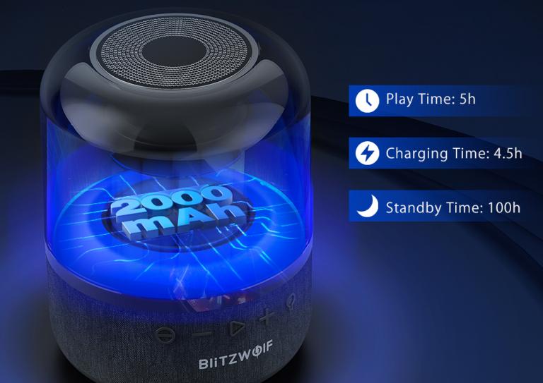 Vadiúj Bluetooth hangszóró a BlitzWolf műhelyéből 7