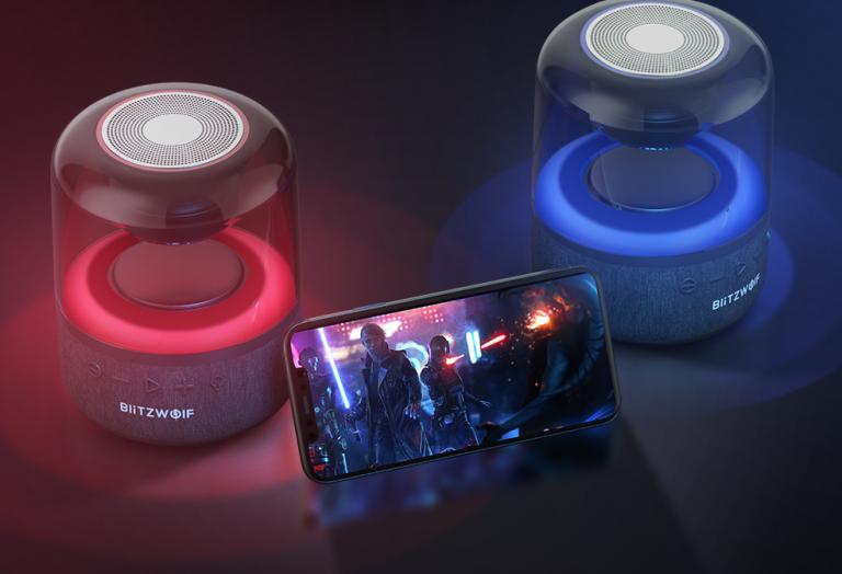 Vadiúj Bluetooth hangszóró a BlitzWolf műhelyéből 6
