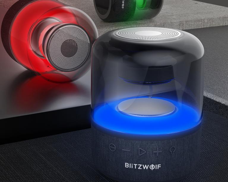 Vadiúj Bluetooth hangszóró a BlitzWolf műhelyéből 9