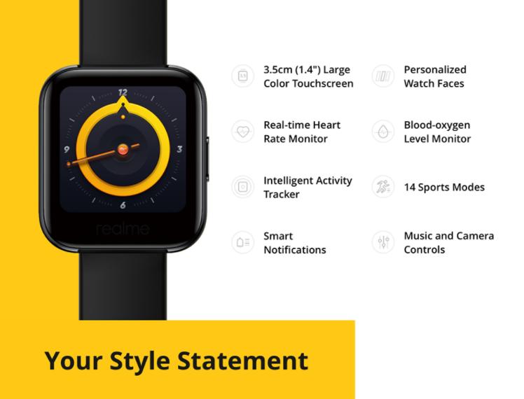 Megérkezett a Realme Watch a Banggoodra 3