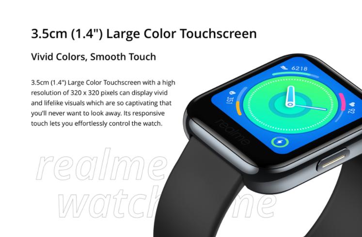Megérkezett a Realme Watch a Banggoodra 6