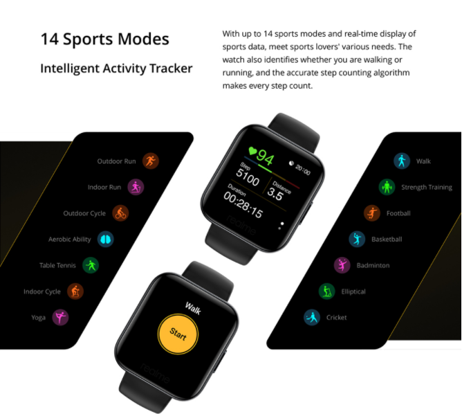 Megérkezett a Realme Watch a Banggoodra 5