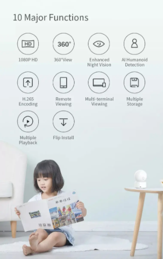 Mindent lát – Xiaomi Imilab IP kamera akció a Banggoodon 3