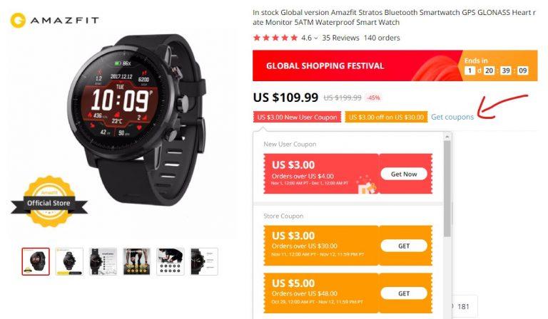 Ismét olcsók az Amazfit órák Alin 2