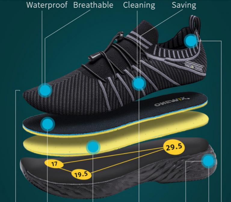 ONEMIX víztaszító futócipő olcsón 11