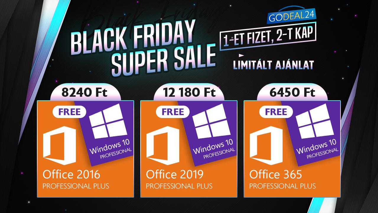 Ingyen Windows Black Friday-en 2