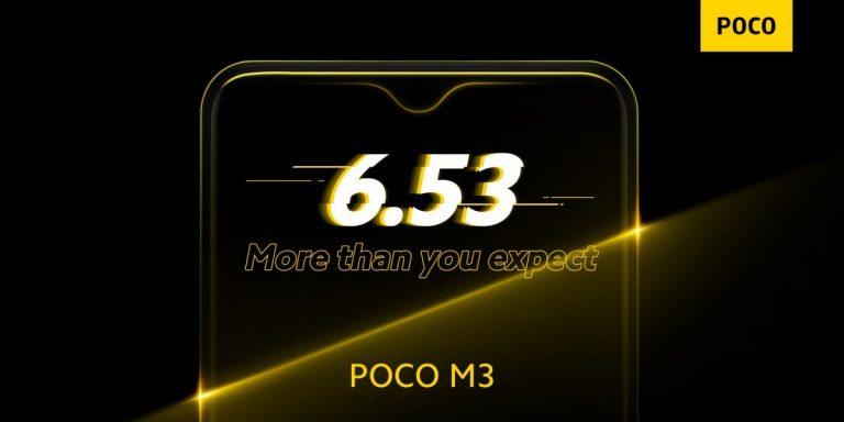 Megjelent a Poco M3 [FRISSÍTVE] 2