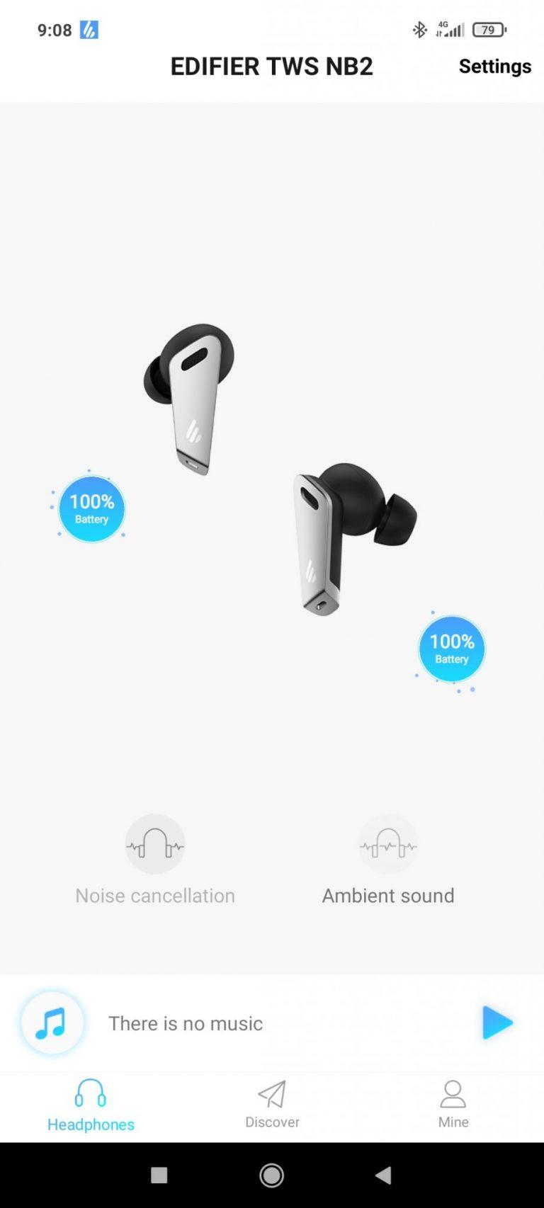 Edifier TWS NB2 fülhallgató teszt 15