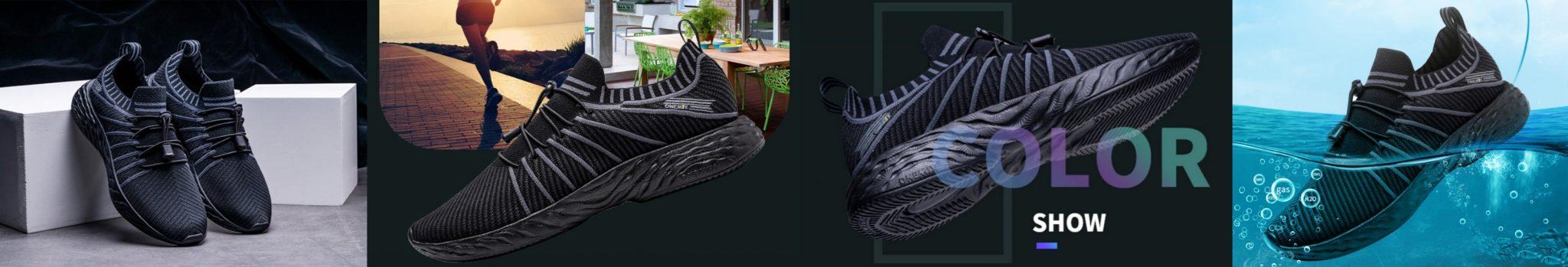 ONEMIX All Black cipő teszt 13