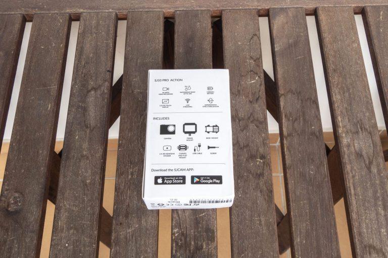 SJCAM SJ10 Pro akciókamera teszt 2