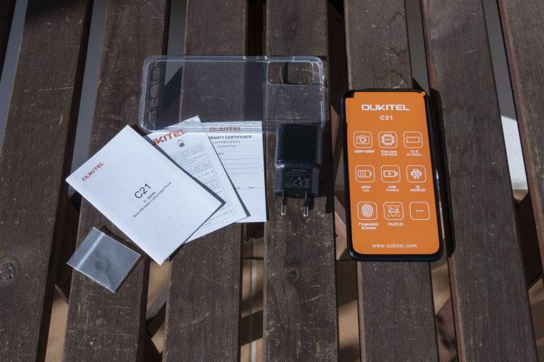 Oukitel C21 okostelefon teszt 3