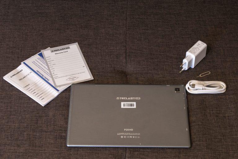 Teclast P20HD tablet teszt 3