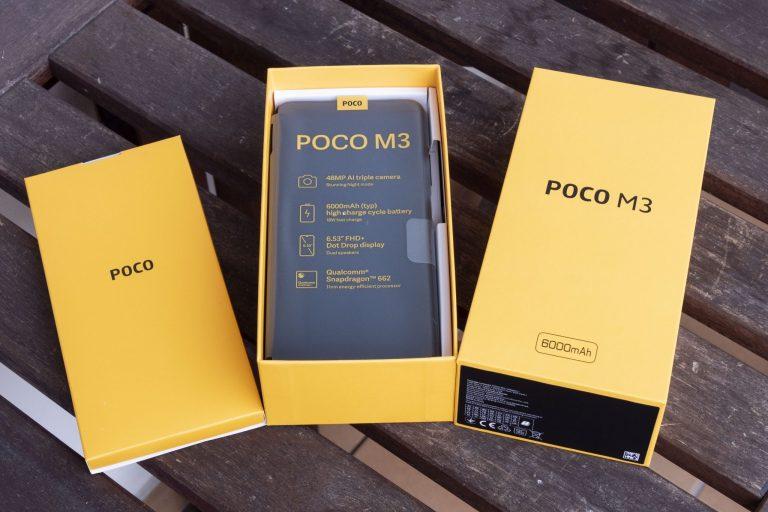 Poco M3 telefon teszt 3