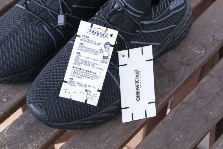 ONEMIX All Black cipő teszt 3