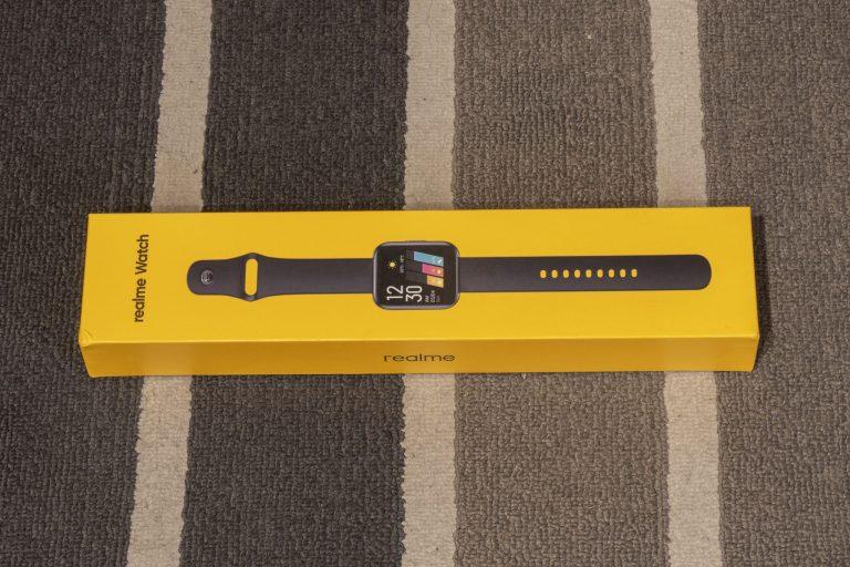 Realme Watch aktivitásmérő teszt 2