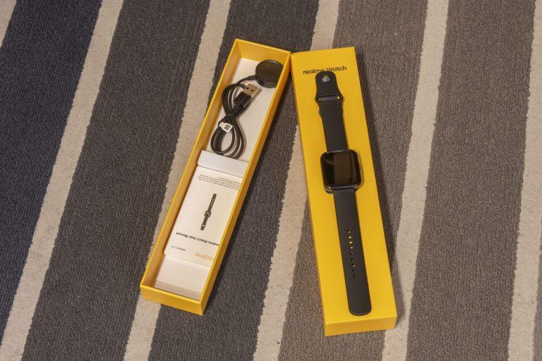 Realme Watch aktivitásmérő teszt 4