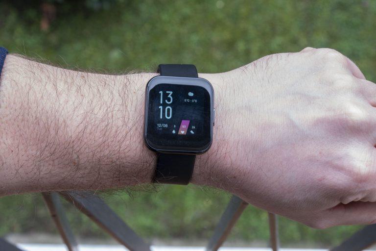 Realme Watch aktivitásmérő teszt 11