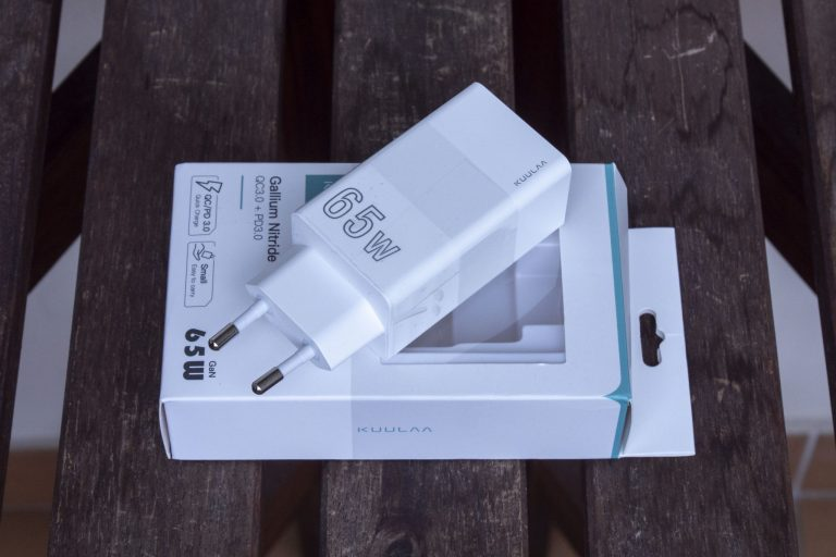 Kuulaa 65 W-os USB töltő teszt 4
