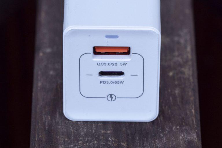 Kuulaa 65 W-os USB töltő teszt 6