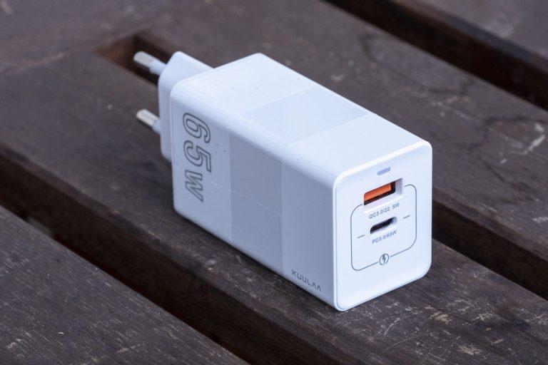 Kuulaa 65 W-os USB töltő teszt 7