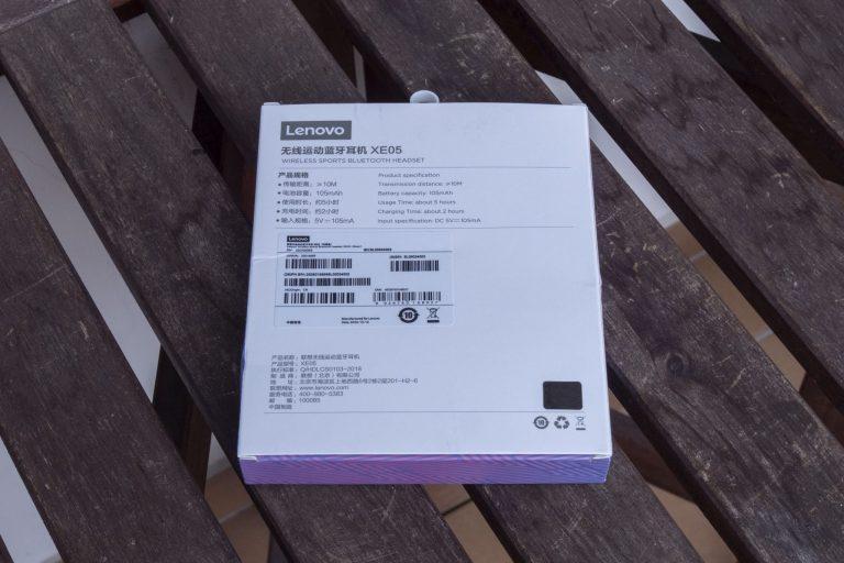 Lenovo XE05 Bluetooth fülhallgató teszt 3