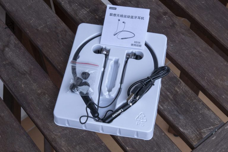 Lenovo XE05 Bluetooth fülhallgató teszt 4
