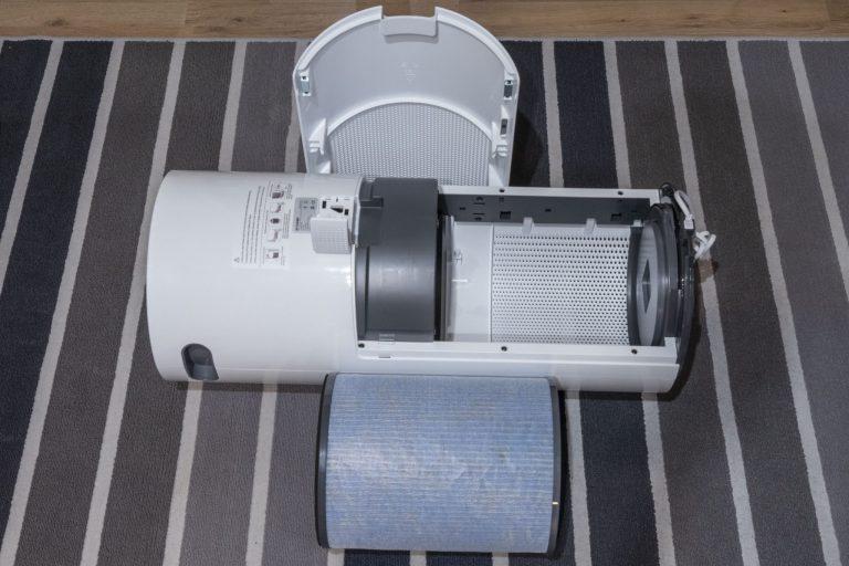 BlitzWolf BW-AP2 légtisztító teszt 5