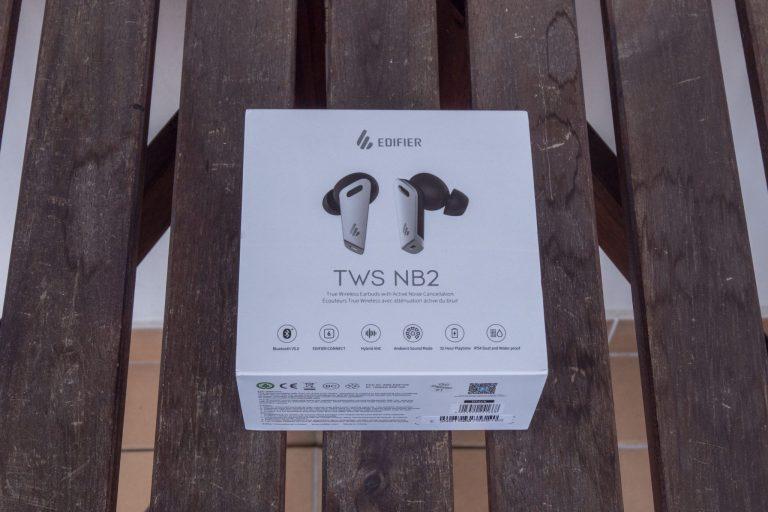 Edifier TWS NB2 fülhallgató teszt 2