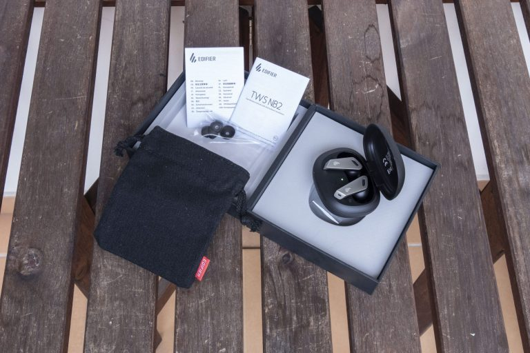 Edifier TWS NB2 fülhallgató teszt 11