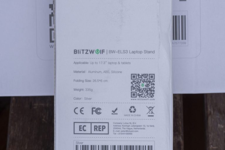 BlitzWolf ELS3 és ELS4 notebooktartók tesztje 15