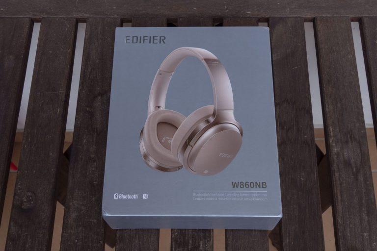 Edifier W860NB BT fejhallgató teszt 2