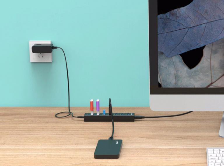 Bitang olcsó 7 portos USB hub az Oricotól 2