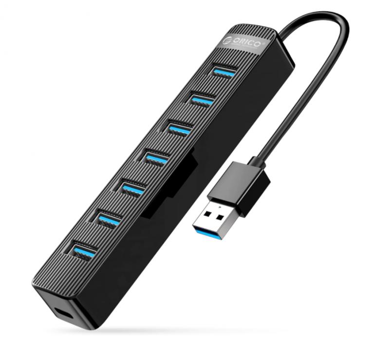 Bitang olcsó 7 portos USB hub az Oricotól 6