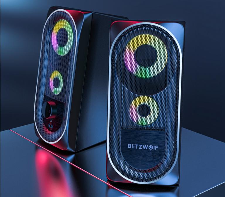 Megint egy PC hangszóró látott napvilágot a BlitzWolf műhelyében 8