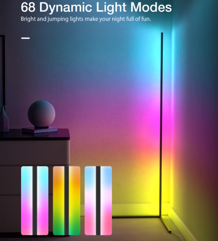 Sarokba állítható RGB állólámpa újdonság a BlitzWolftól 5