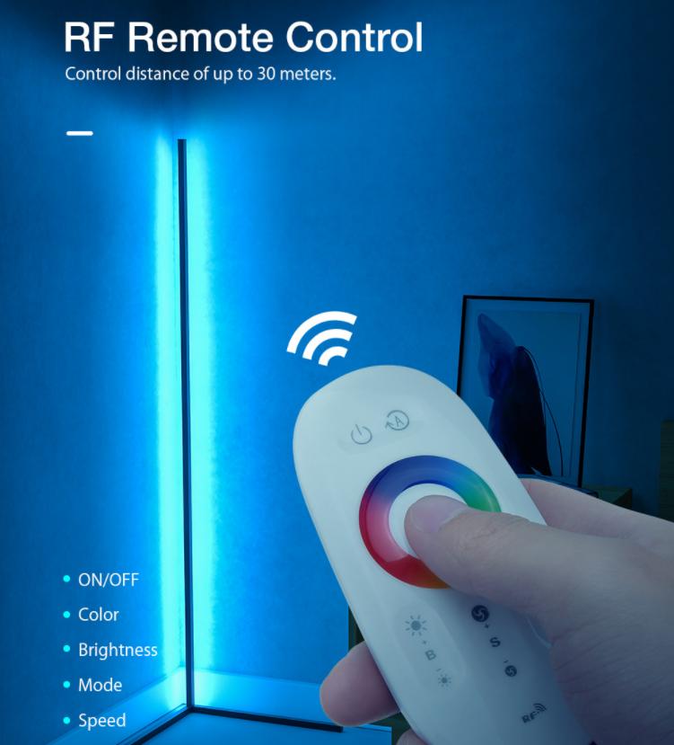 Sarokba állítható RGB állólámpa újdonság a BlitzWolftól 4