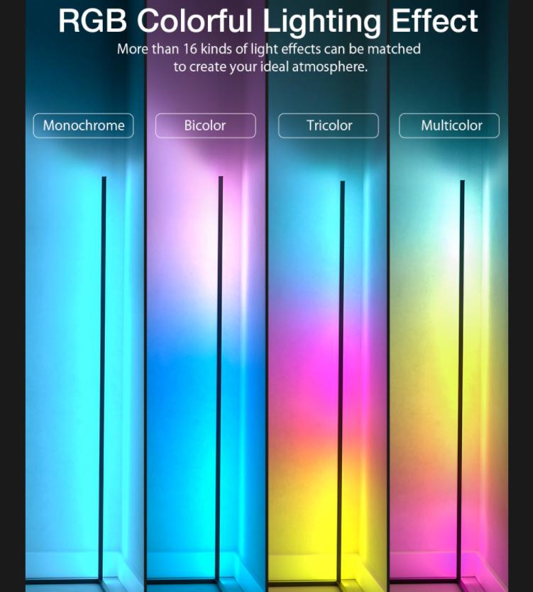 Sarokba állítható RGB állólámpa újdonság a BlitzWolftól 7