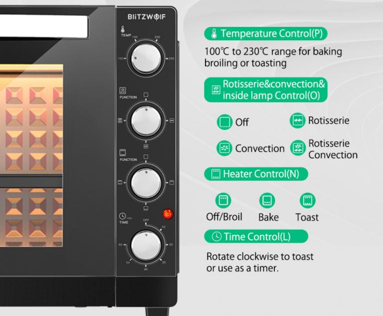 Egy teljesen új levegős sütőt mutatott be a BlitzWolf 3