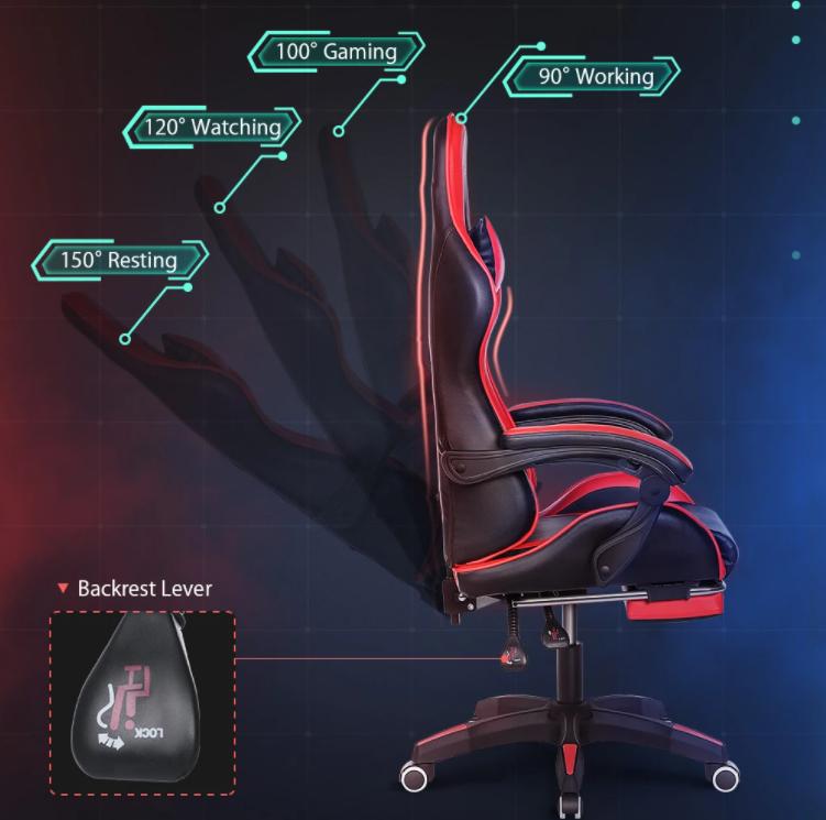 Újra 25 000-ért vihető a BlitzWolf gamer szék 8