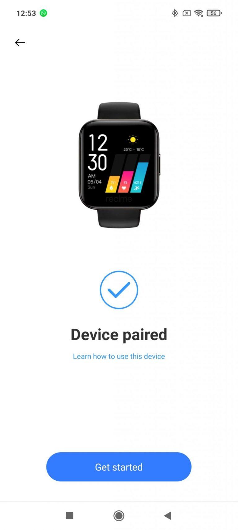 Realme Watch aktivitásmérő teszt 12